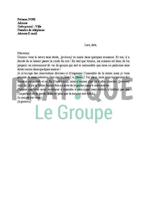 Célèbre Invitation à un enterrement de vie de garçon | Pratique.fr ZC57
