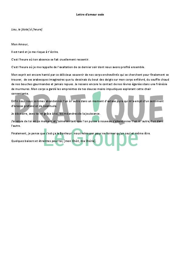 Lettre D Amour Osee Pratique Fr