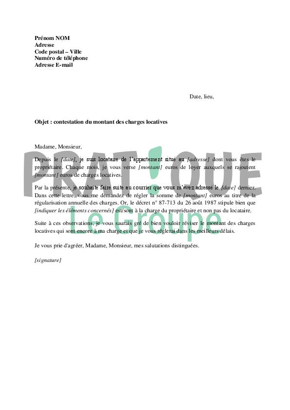 Modele lettre locataire a son proprietaire document online - Obligation du proprietaire envers le locataire ...