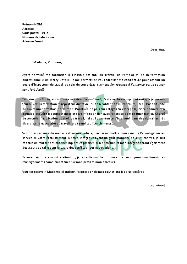 lettre de motivation clerc de notaire
