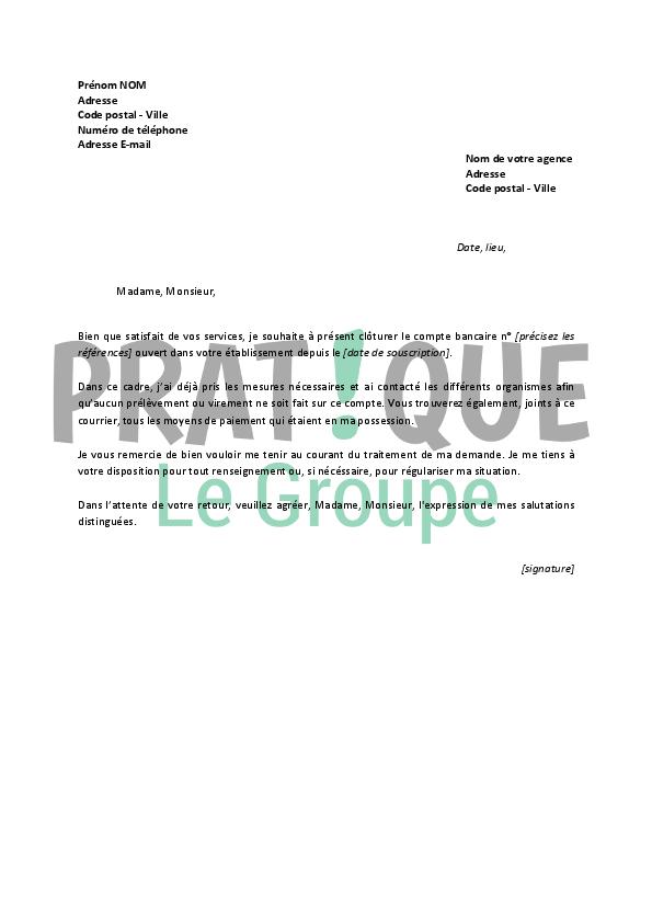 Lettre De Resiliation Credit Agricole Pratique Fr