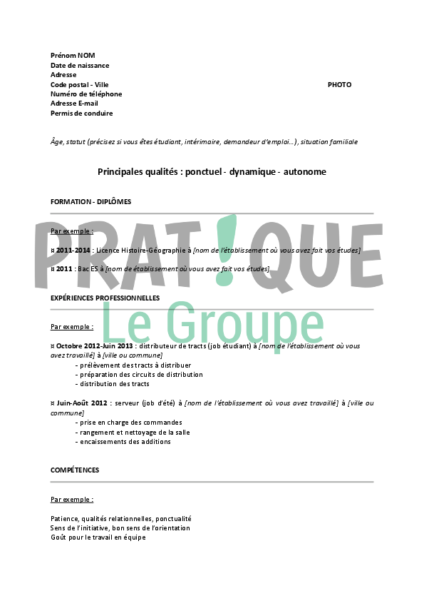 job etudiant distribution prospectus