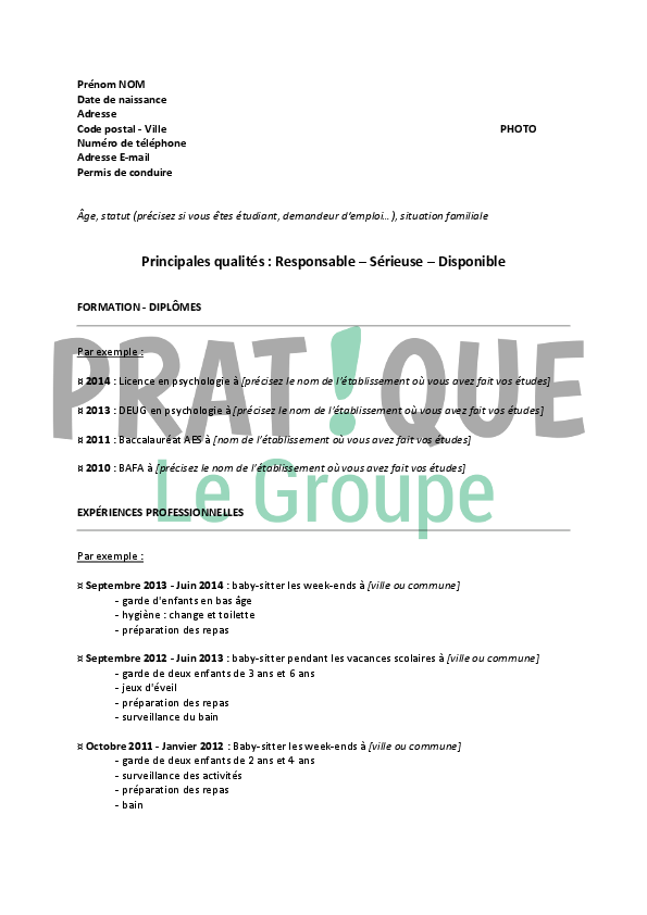 job etudiant week end
