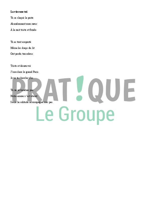 Poème Damour Triste Pratiquefr