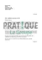 Lettre De Candidature Pour Un Stage En Creche Pratique Fr