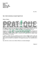 Lettre de motivation pour devenir agent d'escale
