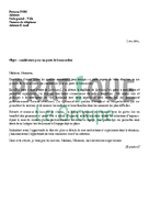 Lettre de motivation pour devenir brancardier