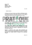 Lettre de motivation pour un stage d'opticien lunetier