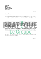 Lettre de motivation pour un stage en DUT informatique