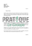 Lettre de motivation pour un stage en master de chimie