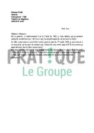 Lettre résiliation d'un contrat de téléphonie mobile - Loi Chatel
