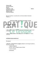 Mod le de cv pour un brevet professionnel de fleuriste - Brevet professionnel cuisine ...