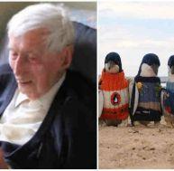 Alfred Date, 109 ans, tricote des pulls pour manchots