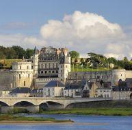 Vue du château d'Amboise