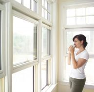 Pose d'une fenêtre double vitrage