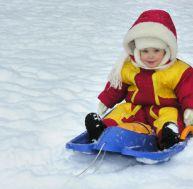 Amener bébé aux sports d'hiver