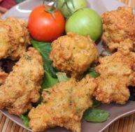 Beignets Pakora à la farine de pois chiches