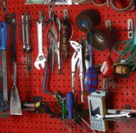 Panneau porte-outils