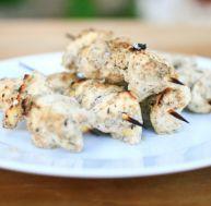 Brochettes de poulet libanaises