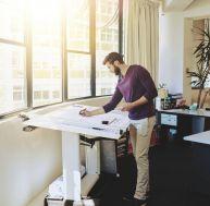 comment choisir ses meubles de bureau en fonction de l 39 espace. Black Bedroom Furniture Sets. Home Design Ideas