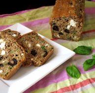 Cake à la feta et aux olives