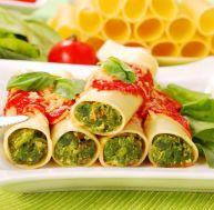Recette des cannelloni ricotta-épinards