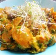 Recette des carottes à la crème de soja