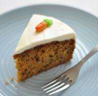 Recette du carrot cake ou gâteau aux carottes