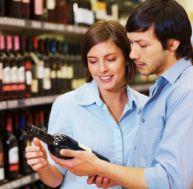 Choisir son vin au supermarché