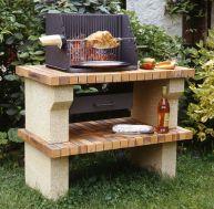 Construire un barbecue de jardin