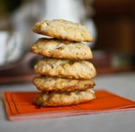 Cookies croustillants au citron
