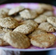 Recette des cookies à la confiture de lait et aux noix