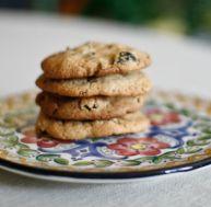 Cookies aux fruits secs et aux céréales