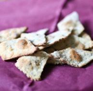 Recette des crackers aux algues