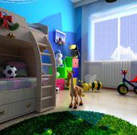 Décorer une chambre d'enfant