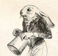 Lièvre anthropomorphisé par Grandville