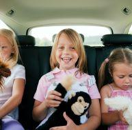 Distraire les enfants en voiture