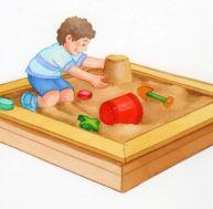 Fabriquer un bac à sable