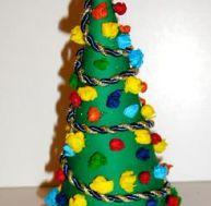 Fabriquer un sapin de Noël en famille