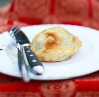 Feuilleté de foie gras aux figues