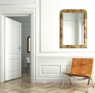 Poser un miroir sur une porte de placard for Miroir magique au mur