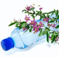 Que faire d'amusant avec des fleurs et une bouteille en plastique ?