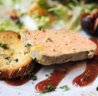 Foie gras, figue et pain...