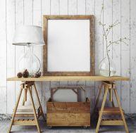 Comment cacher un papier peint en le décorant