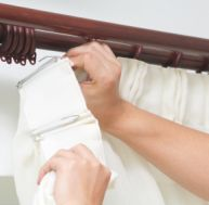 Méthode pour laver ses rideaux