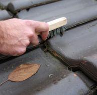 Nettoyage et entretien d'une toiture