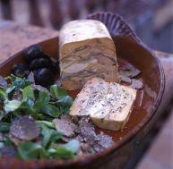 Marbré de foie gras aux truffes - © Restaurant Bruno