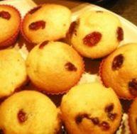 Recette des mini cakes aux cranberries