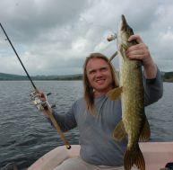 La pêche du brochet au leurre de surface