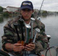 La pêche du silure au clonk